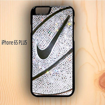Dream colorful Nike Basket Ball Glitter Silver iPhone 6S Plus Case