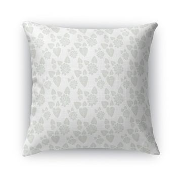 LILYPAD FLOWER Accent Pillow By Heidi Miller