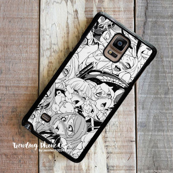Ahegao Pervert Manga  Samsung Galaxy Note 4 Case Cover for Note 3 Note 2 Case