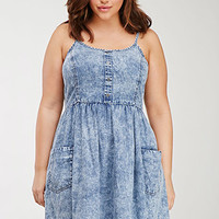 Mineral Wash Denim Dress