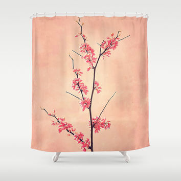 The Passion of Pink Shower Curtain by RichCaspian