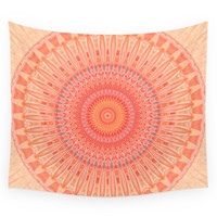 Society6 Mandala Mental Health Wall Tapestry
