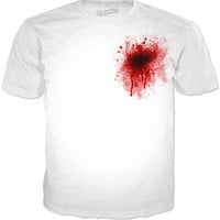 Bullet To The Heart Tee Shirt