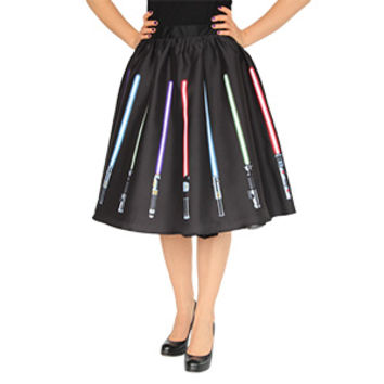 Star Wars Lightsaber Circle Skirt