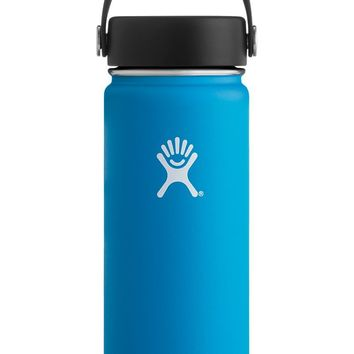 18 oz Wide Mouth Hydro Flask - Pacific Blue
