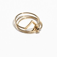 & Other Stories | Ring Stack | Silver