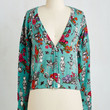 Critters Short Length Long Sleeve Standout of this World Cardigan in Wonderland by ModCloth
