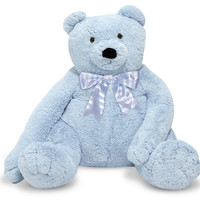 Melissa & Doug - Jumbo Blue Teddy Bear