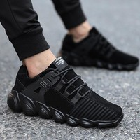 Comfortable non-slip outdoor male sneaker trainer shoes