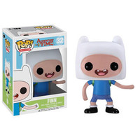 Funko POP! Television - Adventure Time Vinyl Figure - FINN (4 inch): BBToyStore.com - Toys, Plush, Trading Cards, Action Figures & Games online retail store shop sale
