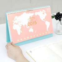 2015 Worldwide Small Desk Calendar