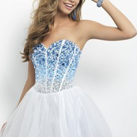 Homecoming dresses by Blush Prom Homecoming Style 9677