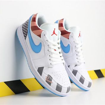 Parra x Nike Air Jordan 1 Low - Best Deal Online