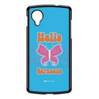 Sassy - Hello Gorgeous 10433 Black Hard Plastic Case for Google Nexus 5 by Sassy Slang