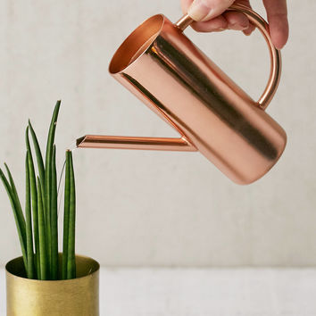 Roxy Rose Gold Mini Watering Can | Urban Outfitters