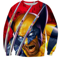 Wolverine winter sweatshirt