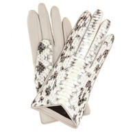 LEATHER AND SNAKESKIN GLOVES