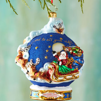 And to All a Goodnight! Ball Christmas Ornament - Christopher Radko