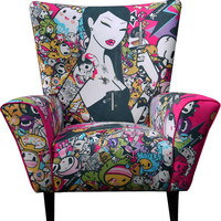 Tokidoki Singapore Limited Edition Wingchair from This is a Limited Edition | Made By This is a Limited Edition | £1595.00 | Bouf