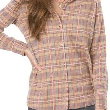 O'Neill Dree Plaid Flannel Shirt | Nordstrom