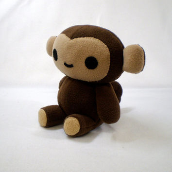 Monkey Stuffed Plush Toy Animal