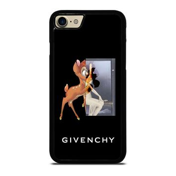 GIVENCHY BAMBI iPhone 4/4S 5/5S/SE 5C 6/6S 7 8 Plus X Case