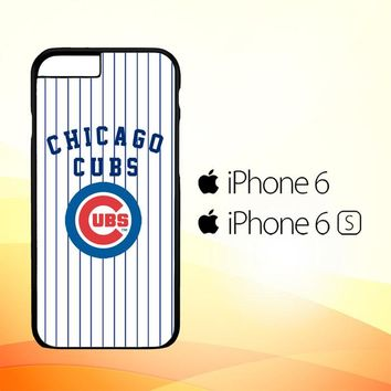 Chicago Cubs logo Z4793 iPhone 6|6S Case