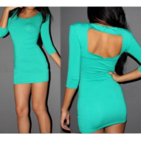 FRESH SEXY BACKLESS DRESS FOR GIRLS