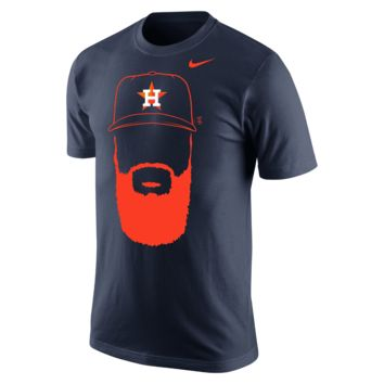 Nike Hair-Itage (MLB Astros / Dallas Keuchel) Men's T-Shirt