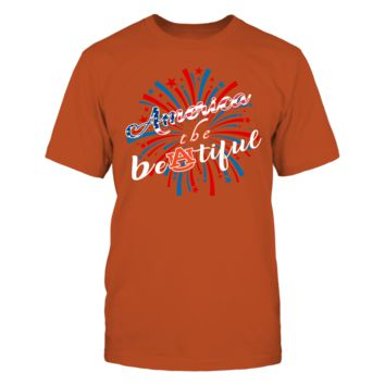 America the Beautiful - T-Shirt - Officially Licensed Fashion Sports Apparel