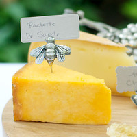 Bee Cheese Markers - Set of 2 - KITCHEN AND DINING - Bar Glassware