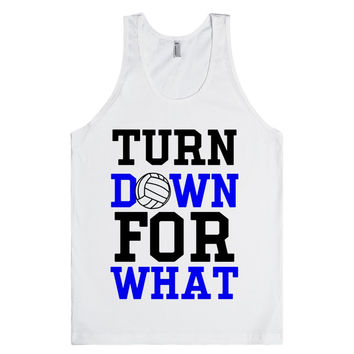 For What Volleyball tank top tee t shirt