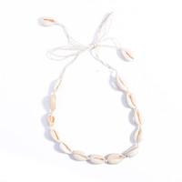 Bohemian Sea Shell Casual Choker Necklace