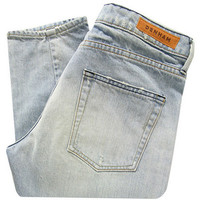 Denham Elle OSS Light Wash Slim Boyfriend Jeans