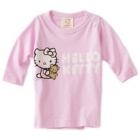 Hello Kitty Organics Baby Girls' Tiny Chum Long Sleeve Snap Tee