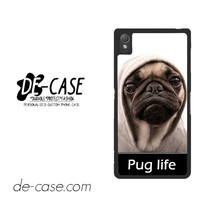 New Design Funny Hilarious Pug Life Parody Fans For Sony Xperia Z3 Case Phone Case Gift Present