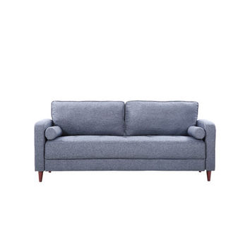 Madison Home USA Mid-Century Modern Linen Fabric Living Room Sofa & Reviews | Wayfair