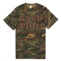 Camo Vintage Save Phil from Duck Dynasty #SavePhil