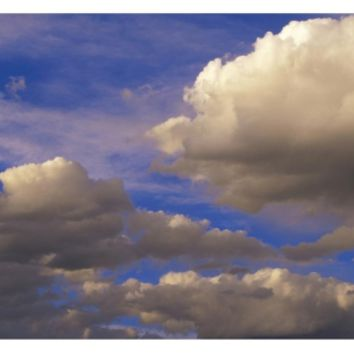 Colorful clouds against blue sky, New Mexico Art Print by Tim Fitzharris at Art.com