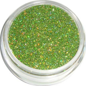Lime Green Holographic Glitter by CALLACosmetics on Etsy