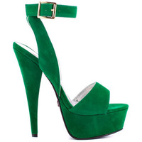 Promise's Green Vance - Jade NB Pu for 49.99 direct from heels.com