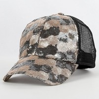 Collection Eighteen Sequin Hat