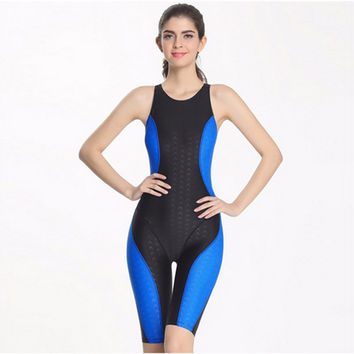 Professional Competition Long Line Swim Body Suit