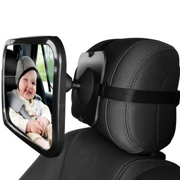Car Back Seat Baby Watching Safety Mirror