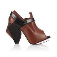 Obtuse  Angle  H  Marron  Ankle  boots