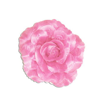 Pink Perfect Pin Up Rose Hair Clip