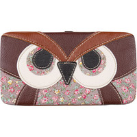 Patchwork Owl Hinged Wallet 194388400 | Wallets | Tillys.com