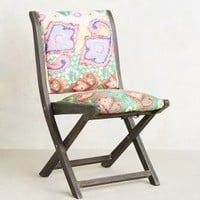 Suzani Terai Folding Chair by Anthropologie
