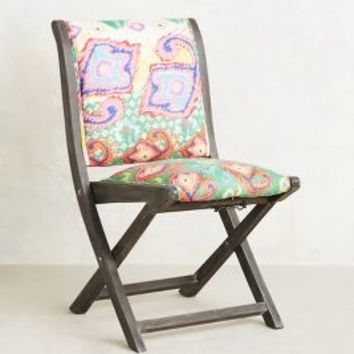 Suzani Terai Folding Chair By From Anthropologie For The