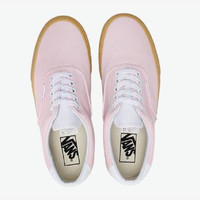 VANS Pink fashion casual shoes